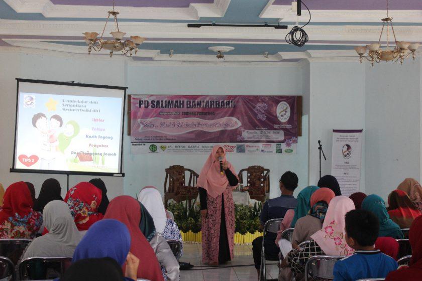 Salimah Banjarbaru Kalsel Adakan Seminar Parenting Ibuku